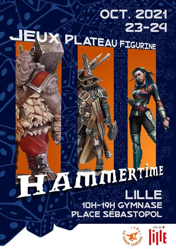 affiche Hammer Time 3